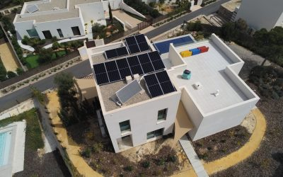 Photovoltaic installation of 5.5kw for self-consumption.