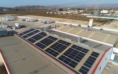 Installation photovoltaïque de 57kw pour autoconsommation en entreprise
